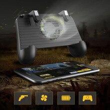 Для Pubg игровой контроллер встроенный охлаждающий вентилятор l1r1 шутер спусковой огонь кнопка с радиатором для смартфона для PUBG phon