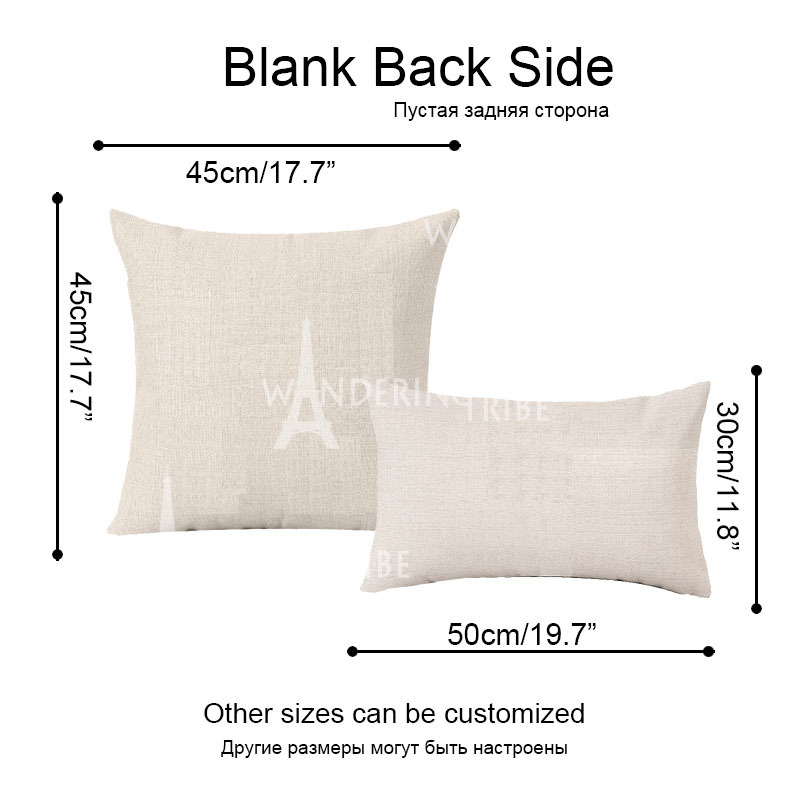 High Quality Cushion Covers Plant Cactus Pillow Covers Girls Car Large Cotton Linen Home Decorative Printing Throwpillow Covers