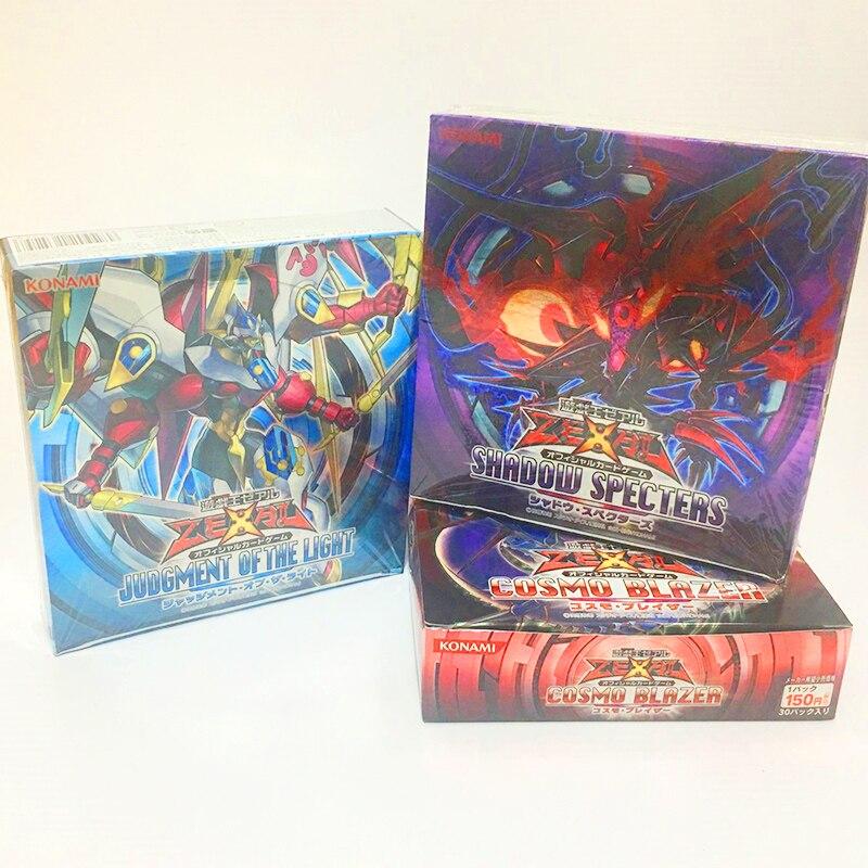 YU GI OH jeu japonais roi toute nouvelle boîte/803/805/806 édition Collection carte enfants jouet cadeau