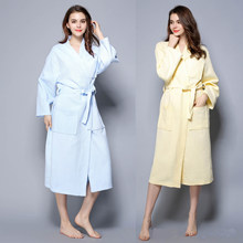 Hot Sale Chinese Women Robe Kimono Bath Gown Summer Lounge Home Dress Soli Sleepwear Sexy Nightgown Casual Nightdress Negligee(China)