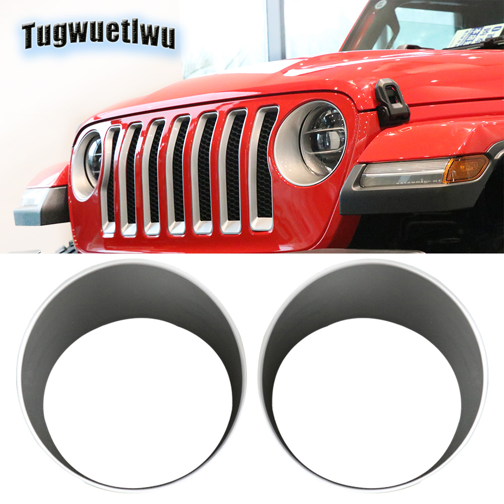 1987-1995 Jeep Wrangler YJ Headlights//Bumper Signal//Tail Lights Guard Cover