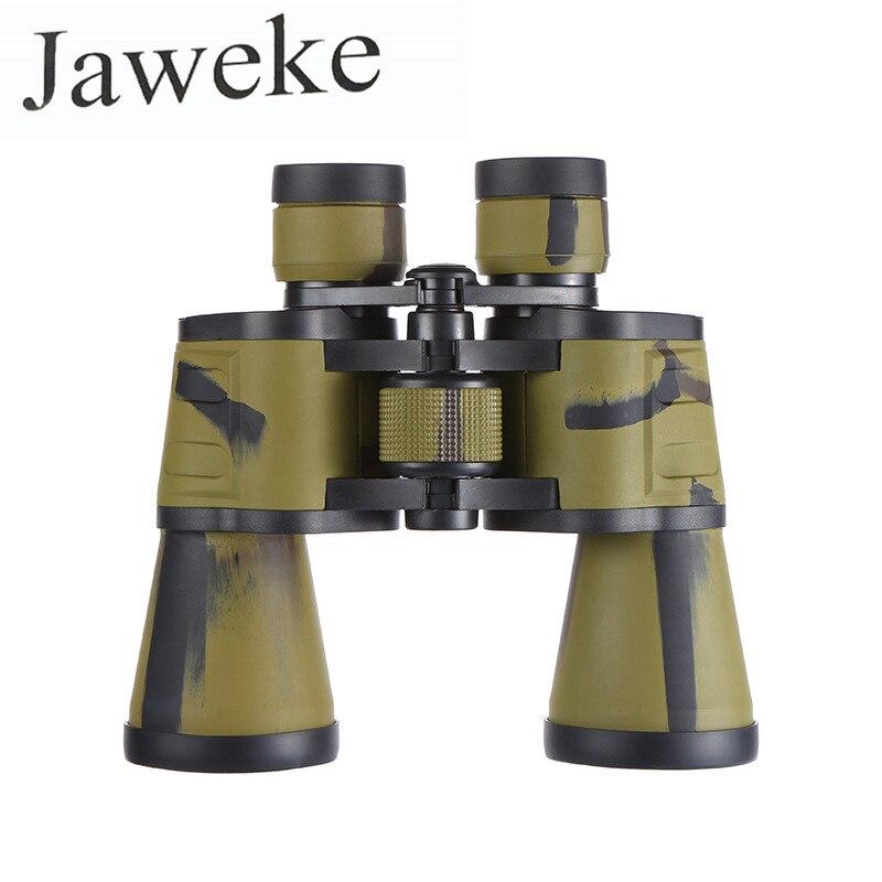 Jumelles de Camouflage JAWEKE 20X50 télescope haute puissance jusqu'à 3000 m de Distance de vision pour la chasse voyage Camping aventure