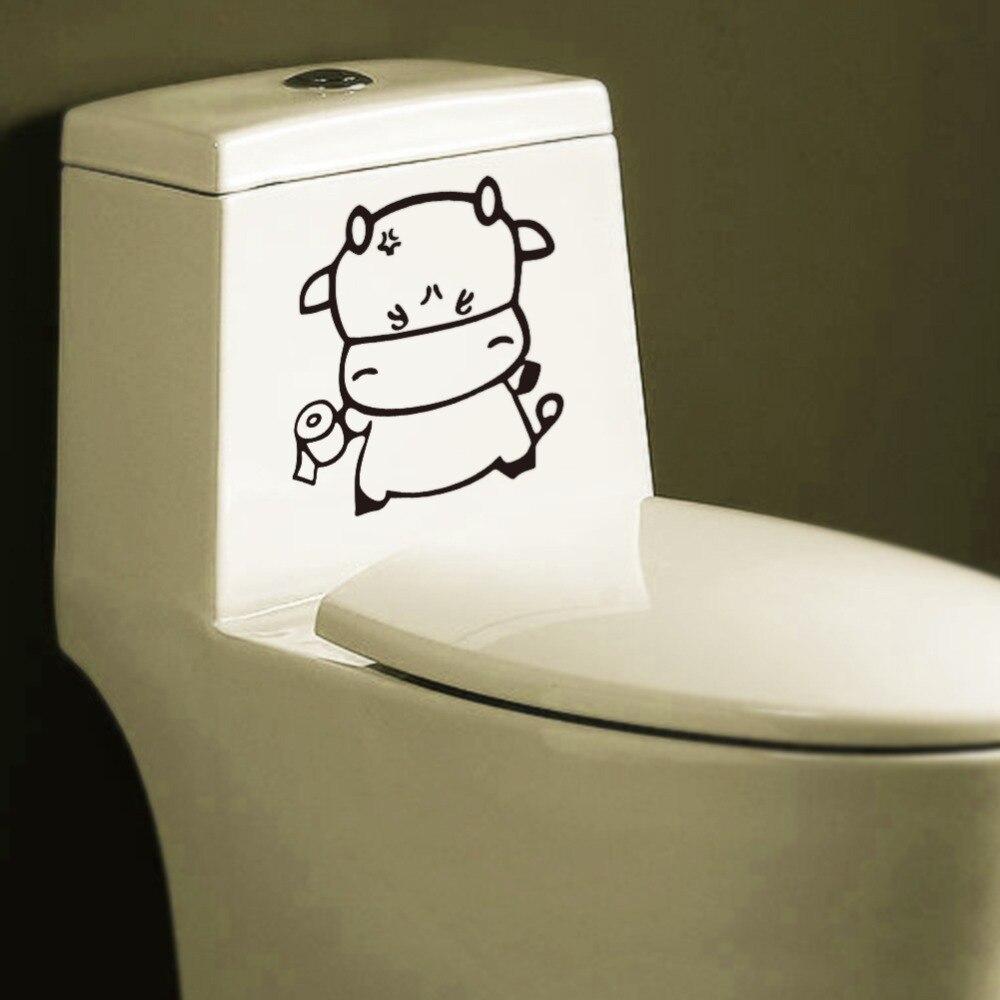 Bagno Decor Impermeabile Divertente Igienici Sticker Finestra ...