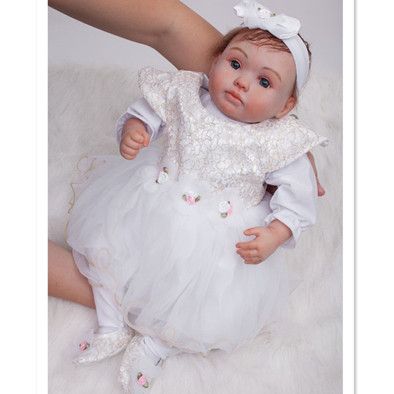 Vinyl Silicone Reborn Dolls Newborn Baby Alive Doll for Girls Toys Gift,50 CM Real Reborn Babies Bonecas Dolls Real Looking silicone reborn dolls baby alive doll soft toys for children christmas gifts 15 inch real reborn babies bonecas newborn dolls