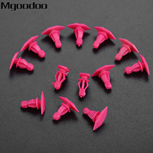 Mgoodoo 100Pcs For Nissan Pickup Truck Auto Special Fasteners Replace Weatherstrip Retainer Plastic Rivets Clip
