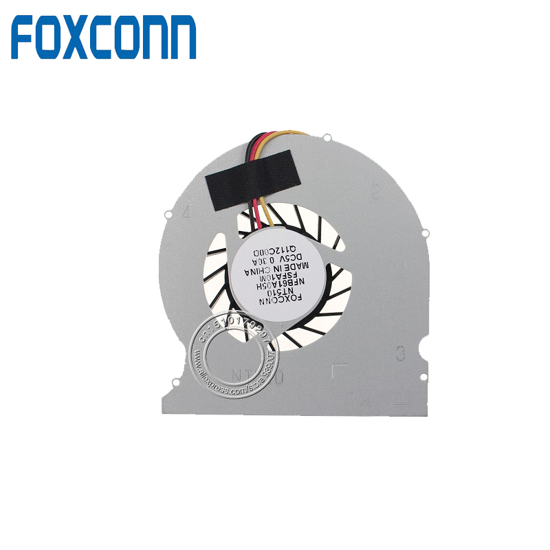 New FOXCONN AJBOX-N NFB61A05H F1FA1 NT330i NT510 NT535 NTA-3700 NetBox CPU Fan