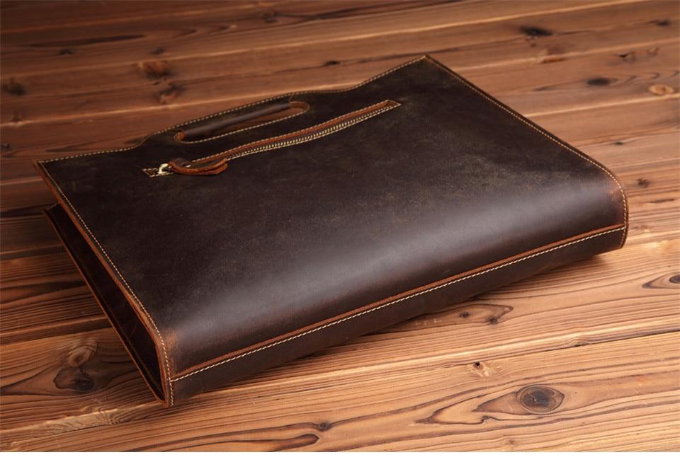 HTB1FiA1EbGYBuNjy0Foq6AiBFXal New Genuine Leather Men's Handbags Retro Crazy Horse Leather Men Tote Bag Shoulder Messenger Business Men Briefcase Laptop Bags
