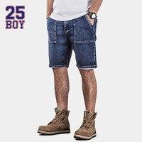 25BOY HE75DENIM Retro Selvedge Denim Shorts Hand Washed Premium Craft Jeans