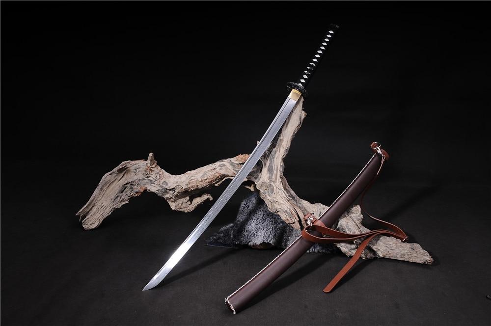 əl istehsalı samuray yapon qılıncları katana funksional zombi - Ev dekoru - Fotoqrafiya 1