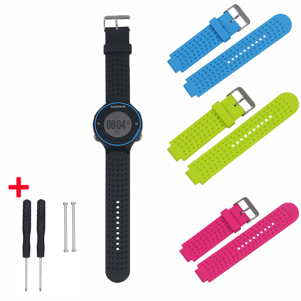 Wholesale 1PC Silicone Universal Wrist Watchbands For Garmin Forerunner 230 235
