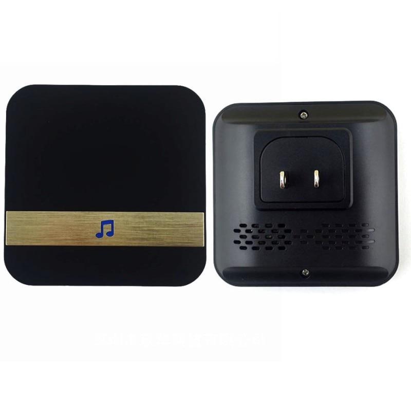 Купить с кэшбэком HB06 720P HD Wireless Wifi Video Doorbell Motion Detection Alarm Night Vision Two-way Audio Door Visual Intercom Doorbell Camera