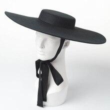 01809 hai8131 Winter % Wol Fashion Model Show Stijl Vrijetijdsbesteding Dame Fedora Cap Vrouwen Hoed