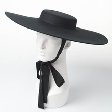 01809 hai8131 חורף % צמר אופנה דגם להראות סגנון פנאי גברת מגבעות לבד כובע נשים כובע