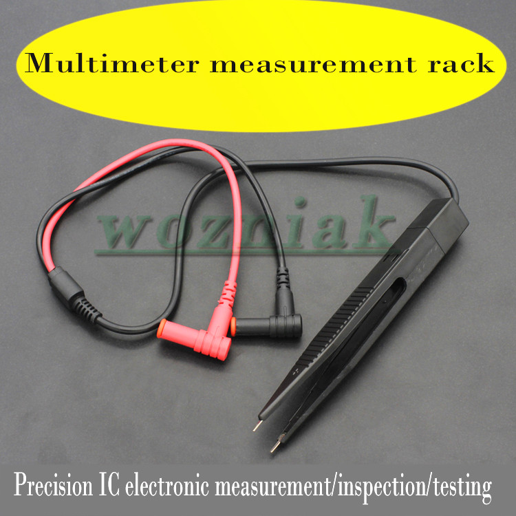 Tweezers Multimeter Type Clamp Patch Pens And Measuring Capacitance Voltage Resistance Test Components