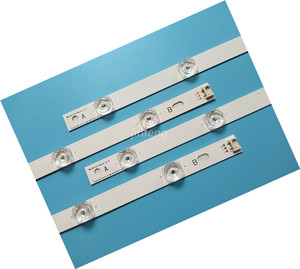 Image 5 - New Kit 8pcs LED strip Replacement for LG LC420DUE 42LF652 42LB5500 INNOTEK DRT 3.0 42 inch A B 6916L 1710A 6916L 1709A