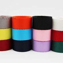 49 Colors Petersham Double Faced Ribbon 3/8 9mm 5/816mm 7/822MM 1 25mm 1-1/2 38mm White Black Red