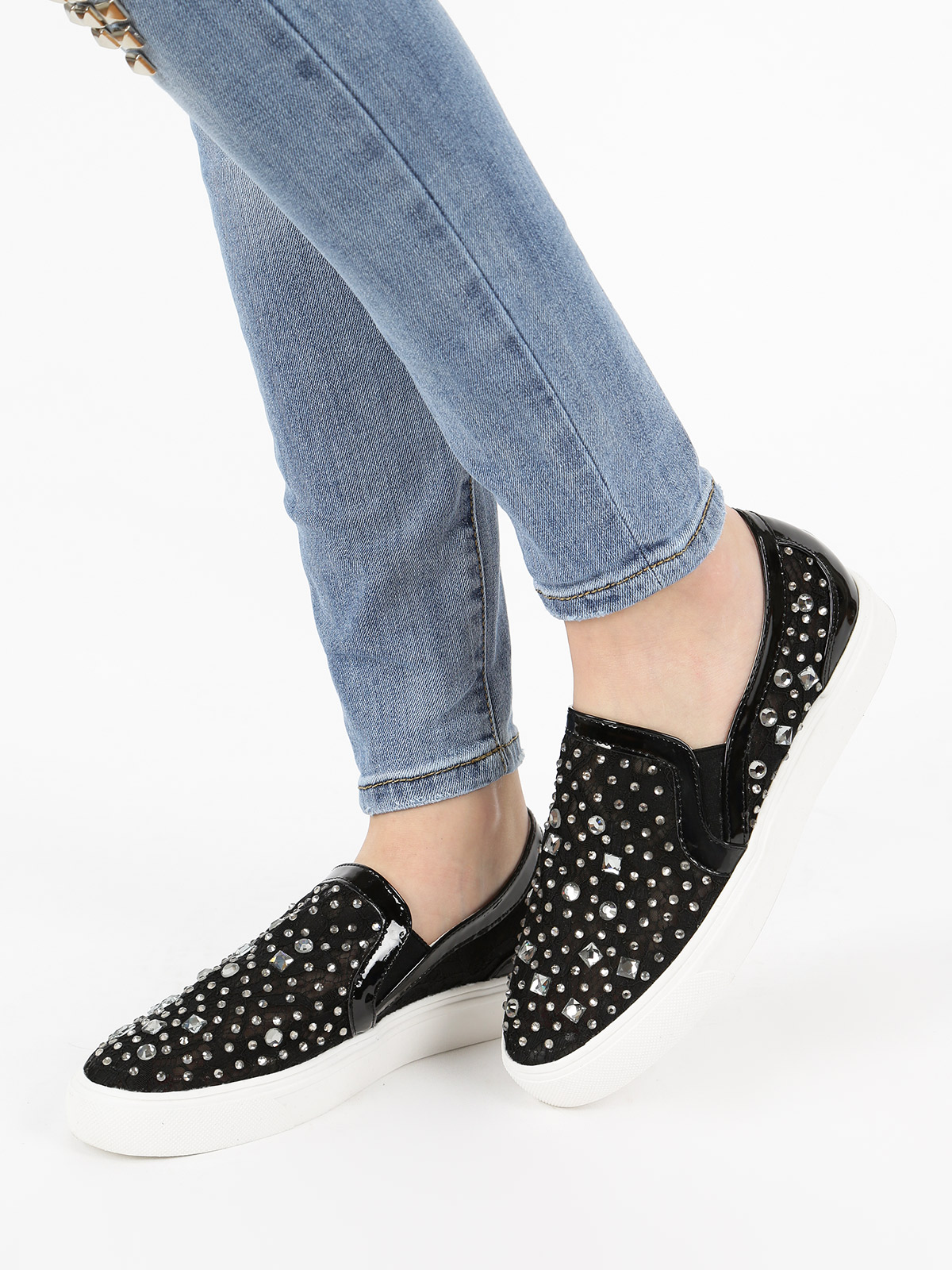 Sneakers With Rhinestone