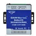 RS485 Modbus RTU Modul 2-kanal PT100 Widerstand Thermometer eingänge Daten Logger Modul DAM118