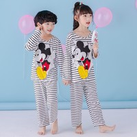 2017 Autumn Winter Baby Boys Girls Sleepwears Suits Lovely Gilr Pajamas Children Pyjamas Girls Cartoon Pijamas