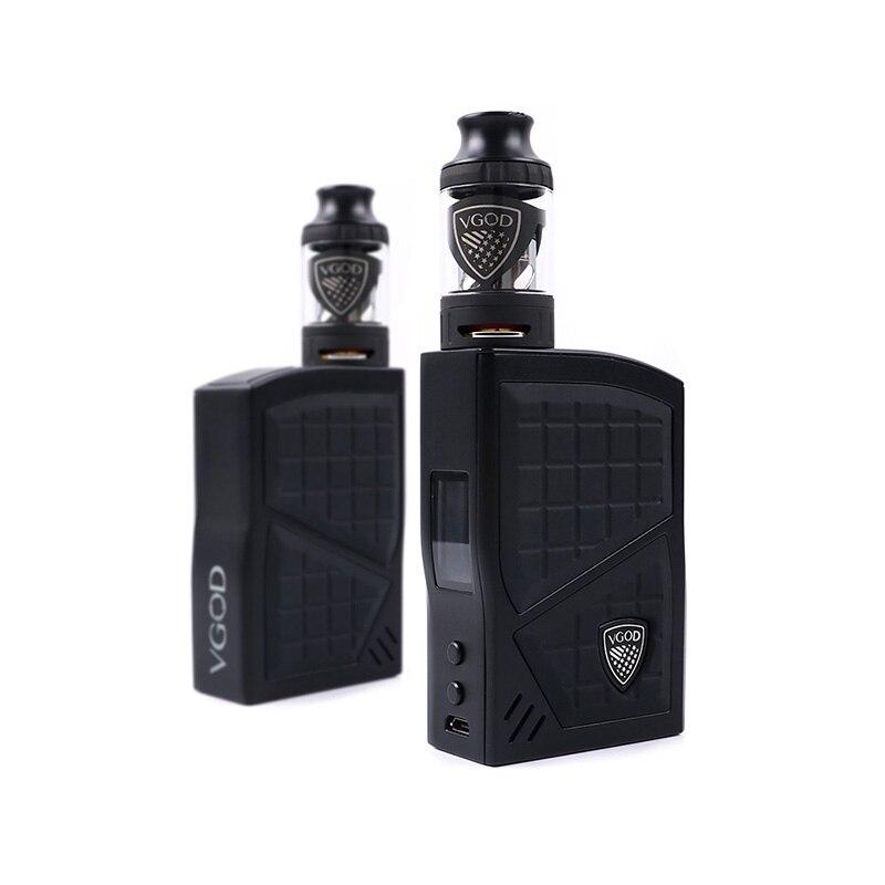D'origine VGOD Pro 200 Boîte Mod Kit TC Vaporisateur Mod 200 w 4 ml VGOD Sub ohm réservoir Atomiseur Électronique cigarettes 0.2ohm Bobine Vape