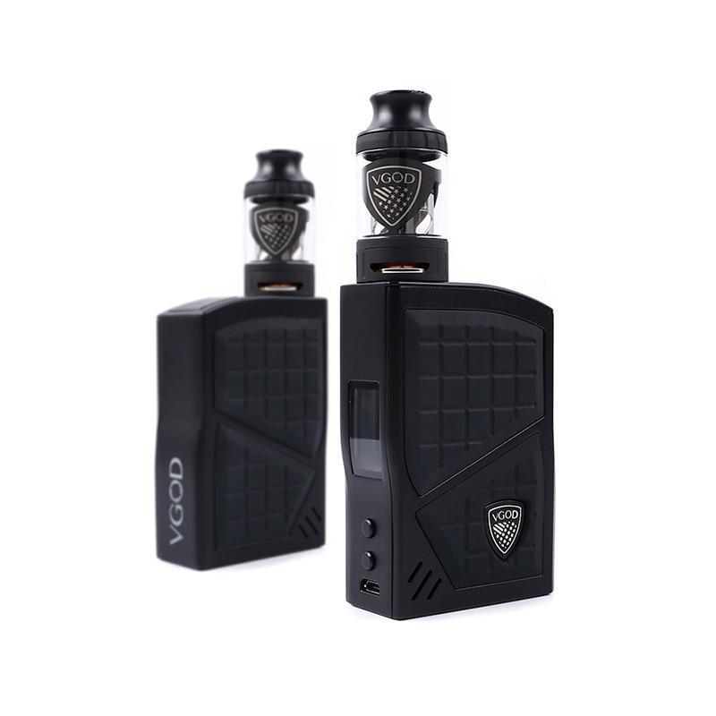Originale VGOD Pro 200 Box Mod Kit TC Vaporizzatore Mod 200 w 4 ml VGOD Sub ohm serbatoio Atomizzatore Elettronico sigarette 0.2ohm Bobina Vape