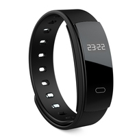 Fashion And Genius! QS80 Heart Rate Smart Wristband Sleep Monitor Call Reminder
