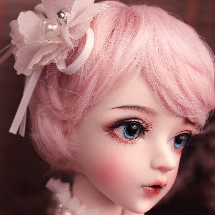 BJD 1/3 balle articulée poupée cadeaux pour fille peint à la main maquillage fullset Lolita/princesse poupée avec des vêtements MAN-YU - 3