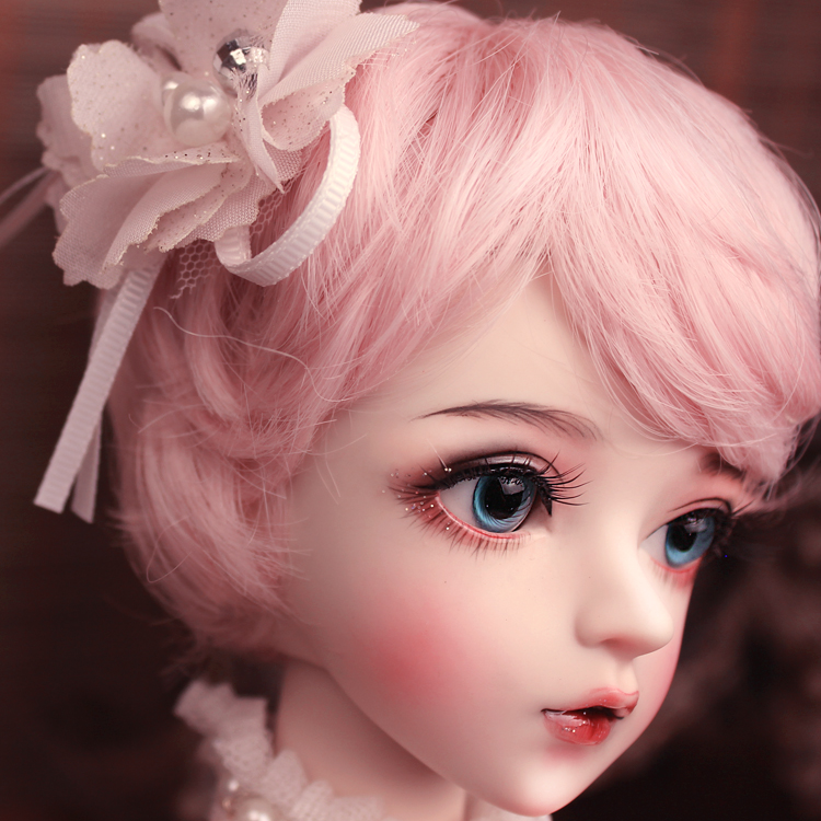 Image 3 - BJD 1/3ball jointed Doll gifts for girl  Handpainted makeup fullset Lolita/princess doll  with clothes MAN YUDolls   -
