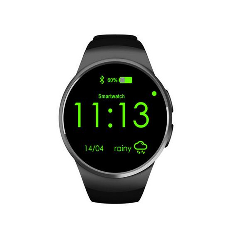 New KW18 Smart Watch Bluetooth Heart Rate Monitor Intelligent font b smartWatch b font Support SIM