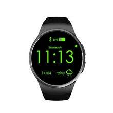 Neue kw18 smart watch bluetooth pulsmesser intelligente smartwatch unterstützung sim tf karte für apple samsung telefon