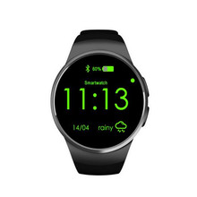 New KW18 Smart Watch Bluetooth Heart Rate Monitor Intelligent smartWatch Support SIM TF Card for apple
