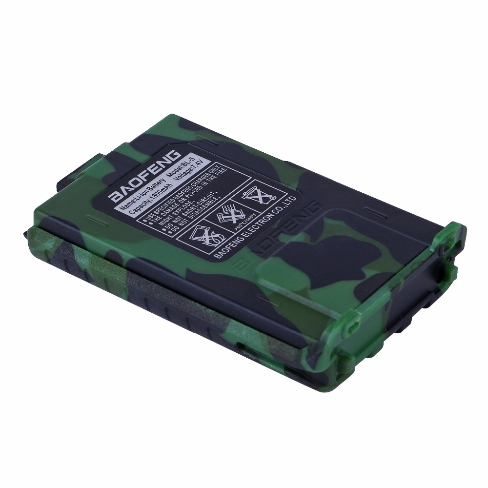 Baofeng UV5R Batterie 7.4 V/1800 mAh Rechargeable Batterie pour Baofeng UV 5R 5RA 5RB 5RC 5RD 5RE deux way radio