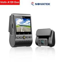 Оригинал «Viofo» A129 Duo, двухканальный HD 1080P WiFi g-сенсор, автомобильная камера, видеорегистратор F1.6, ночное видение, GPS