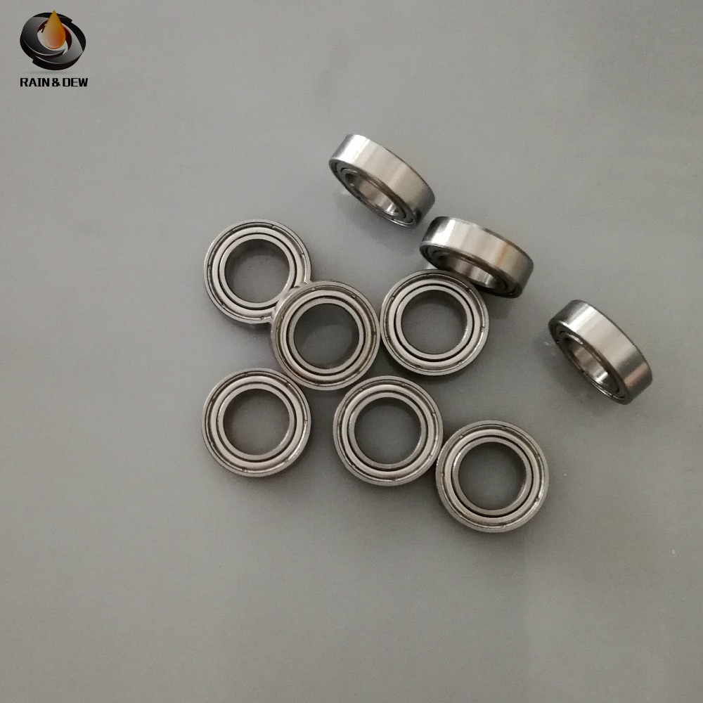 10pcs <font><b>MR148ZZ</b></font> Bearing <font><b>8*14*4</b></font> mm ABEC-7( 10 PCS ) Miniature <font><b>MR148ZZ</b></font> Ball Bearings L-1480 image
