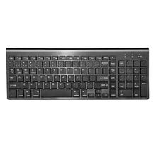 Ultra Thin Silent 104Keys Wireless Bluetooth Game Work Keyboard for Tablet