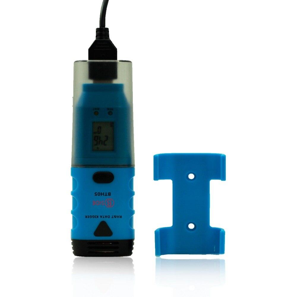 BSIDE BTH05 Mini 3-Channel USB Data Logger Internal External Temperature Humidity bside bth05 waterproof portable mini 3 channel usb data logger internal external temperature humidity data logger recorder
