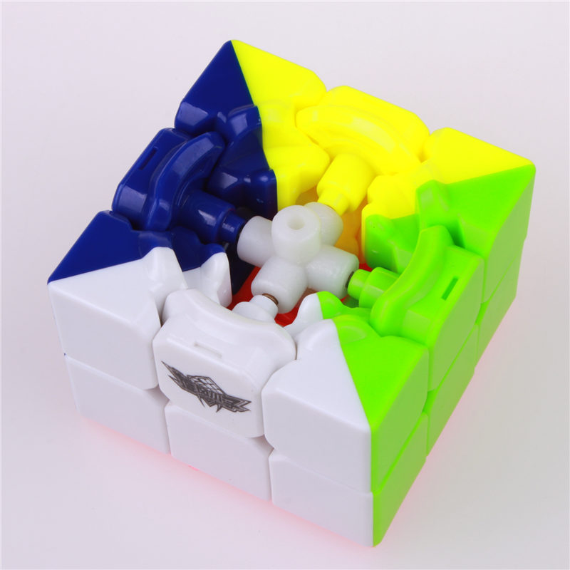 56mm stickerless 3x3x3 čarobni kocke brzina twist kocka magico - Igre i zagonetke - Foto 4