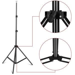 Image 3 - Fotoğrafçılık 2*2M fotoğraf arkaplan standı destek sistemi kiti fotoğraf stüdyosu Muslin arka planında, kağıt ve tuval taşıma çantası ile