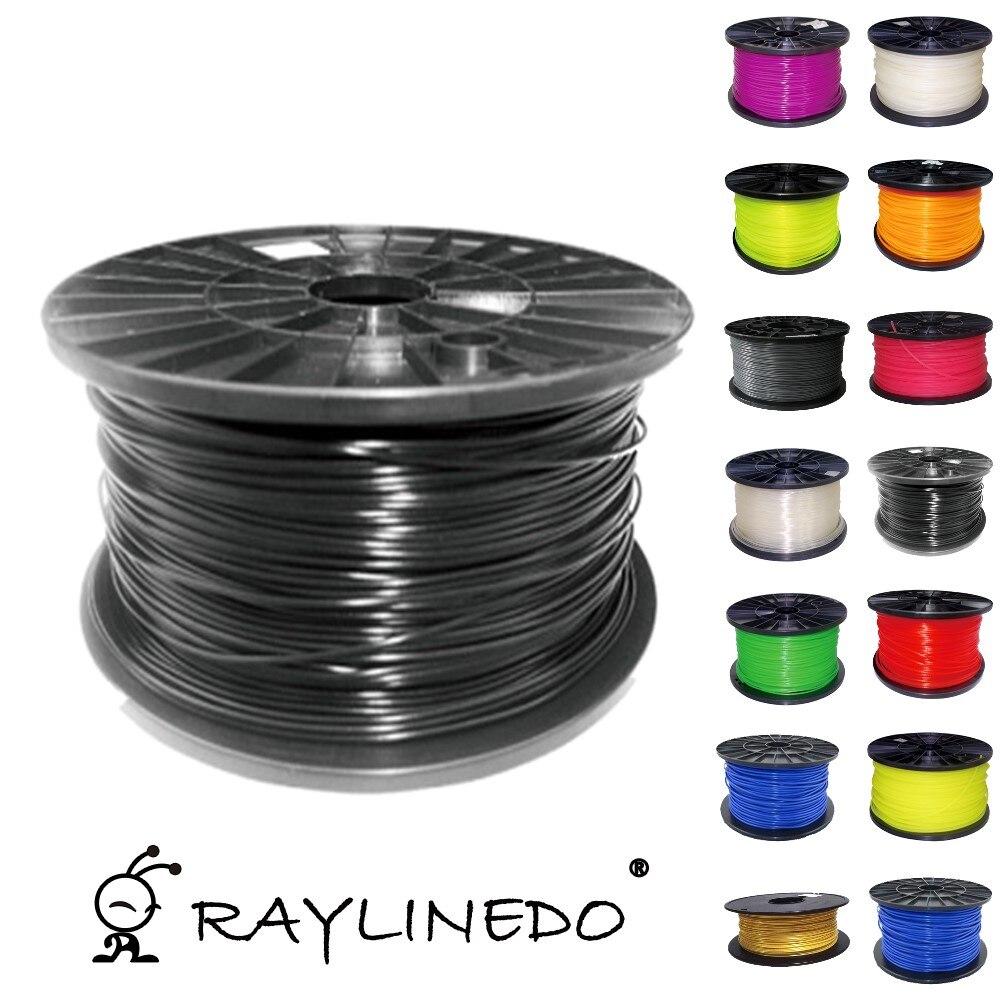 1Kilo-2.2Lb Quality Resistant TPU 1.75mm 3D Printers Filament Black 3D Printing Pen Materials