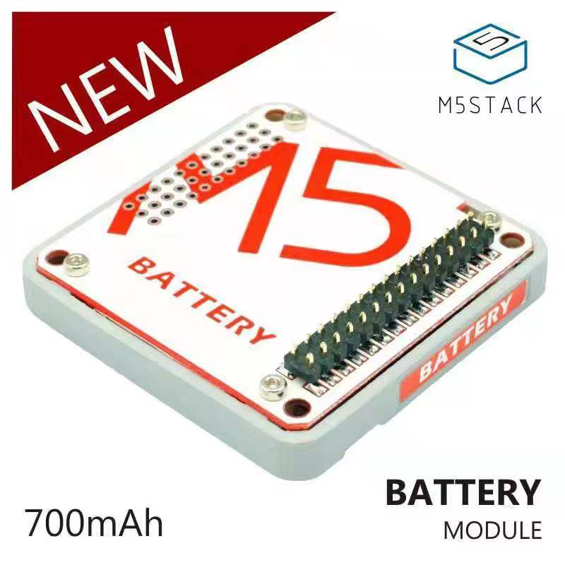 M5Stack Official In Stock! Battery Module for Arduino ESP32 Core Development Kit Capacity 700mAh Stackable IoT Development BoardM5Stack Official In Stock! Battery Module for Arduino ESP32 Core Development Kit Capacity 700mAh Stackable IoT Development Board