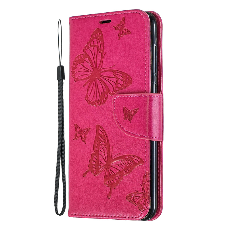 2019 Butterfly Flip Case For Huawei Honor 7A Pro Cover 7S 7C Wallet Phone Book Leather Bag For Funda Honor 8A Case 8C Coque lt in Flip Cases from Cellphones amp Telecommunications