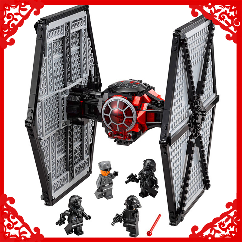 LEPIN 10465 Star Wars Special Forces TIE Fighter Building Block Compatible Legoe 562Pcs    Toys For Children Compatible Legoe lepin 22001 pirate ship imperial warships model building block briks toys gift 1717pcs compatible legoed 10210