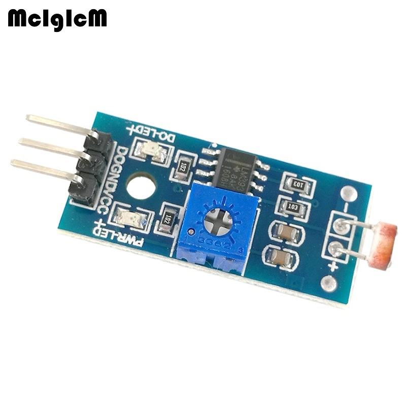 MCIGICM High Quality Light detection Intensity Detect photosensitive Brightness Resistance Sensor photosensitive Module