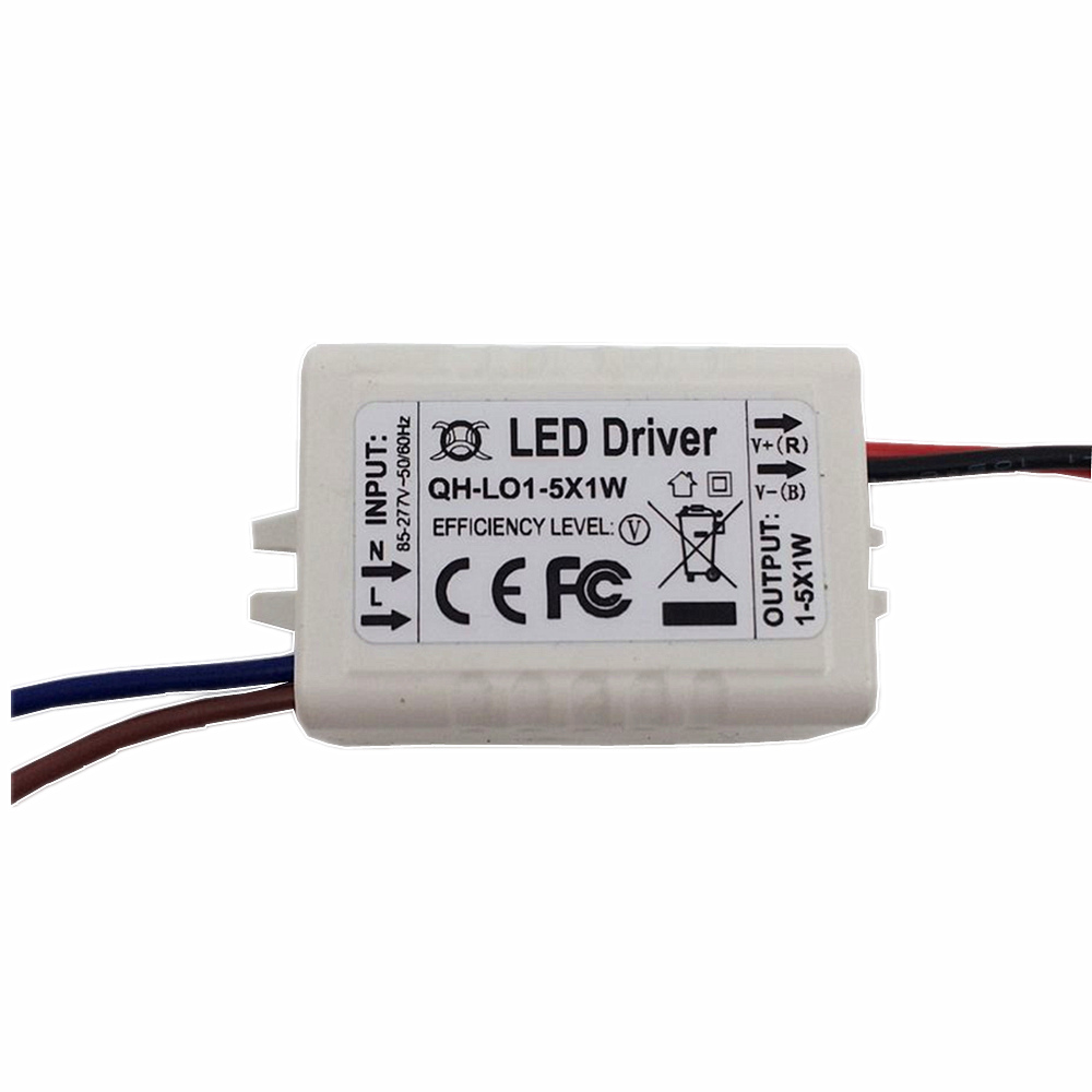 2PCS Constant Current LED Driver 1 5x1W 300mA 3 16V 1W 3W 4W 5W External Lamp Light SMD COB Power Supply Lighting Transformer in Lighting Transformers from Lights Lighting