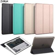 Caso para el Nuevo ipad 9.7 pulgadas 2017, YiPPee ZVRUA Color PU Caso Elegante de La Cubierta Imán sleep despierta Para el Nuevo ipad 2017 modelo A1822 A1823