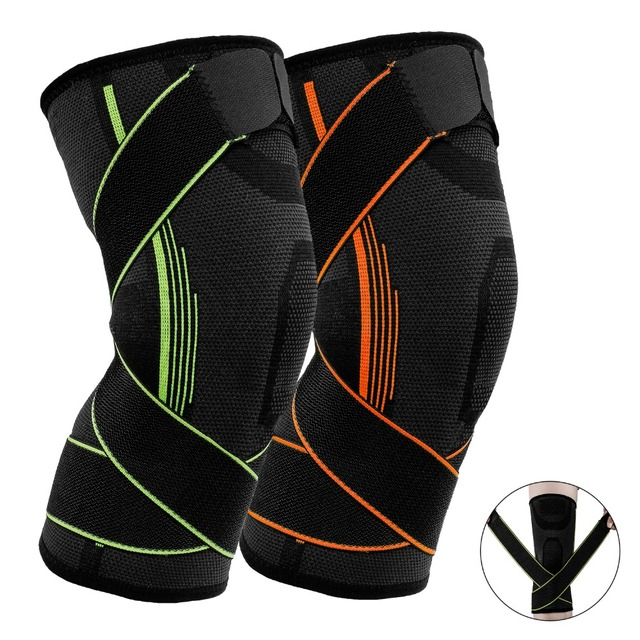 5aa144157a Nieoqar 1 Pcs Fitness Running Knee Support Protect Gym Sport Braces Kneepad Elastic  Nylon Padded Compression Knee Pad Sleeve