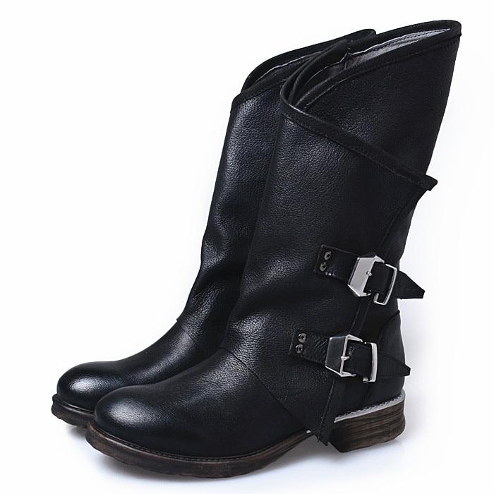 Online Get Cheap Flat Black Boots for Women -Aliexpress.com ...