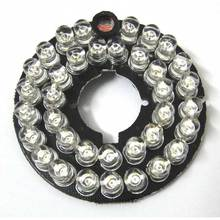 10pcs 36LEDs 5mm Infrared IR 90 Degrees Bulbs Board 850nm Illuminator 36 Leds For CCTV Camera