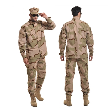 Men's Hunting Clothing Military Tactical BDU Combat Uniform Army Battlefield Gear Training Clothes Camouflage Ghillie Suit german army woodland camo suit acu bdu military camouflage suit sets cs combat tactical paintball uniform jacket