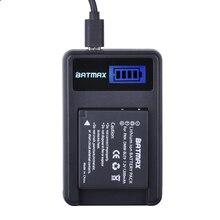 DMW-BLG10 BLG10 BP-DC15 BPDC15 Battery and LCD Charger for Panasonic Lumix GF6,GX7,GX80,GX85,GX7 Mark II,LX100,D-Lux(Type 109)